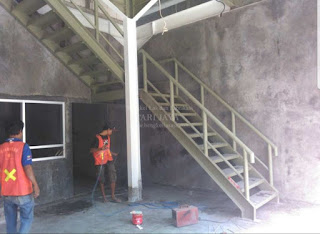 jasa pembuatan tangga besi surabaya, sidoarjo, dan sekitarnya