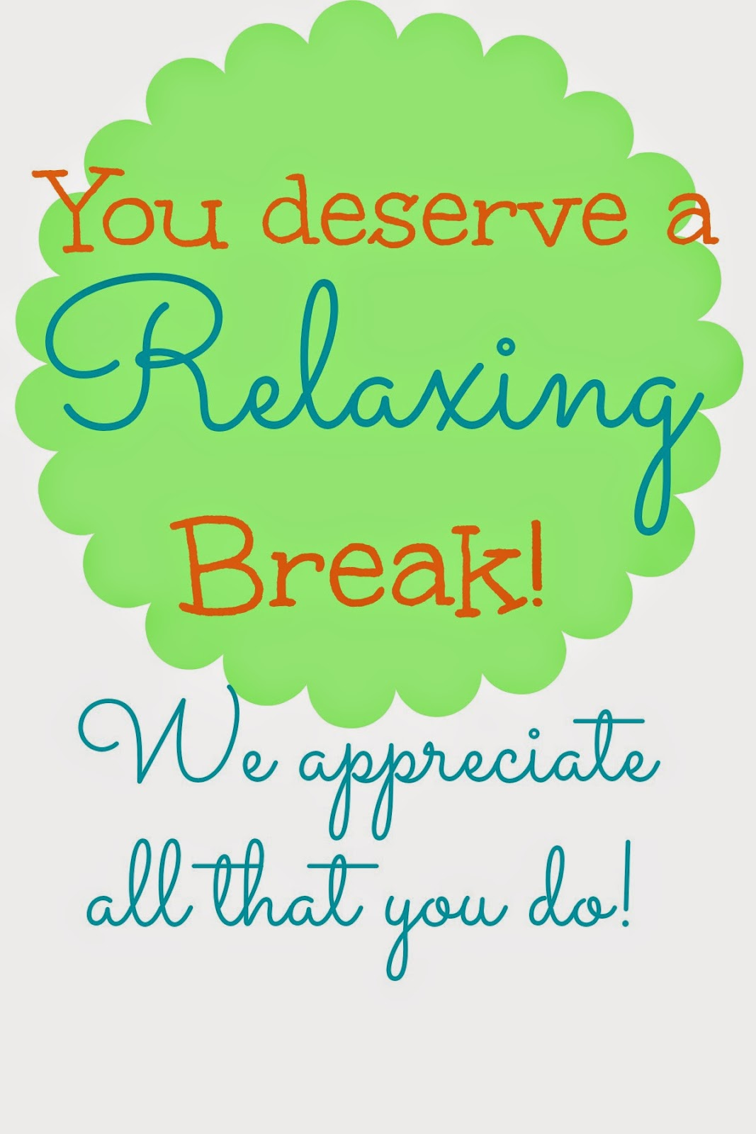 image regarding You Deserve a Break Printable identified as Fireflies and Jellybeans: Do-it-yourself Coasters (15 moment Craft