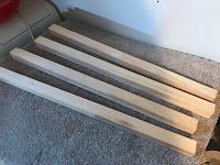 2 X 2 pine posts