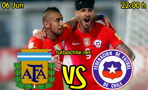 VER STREAM YOUTUBE RESULTADO EN VIVO, ONLINE: Argentina vs Chile
