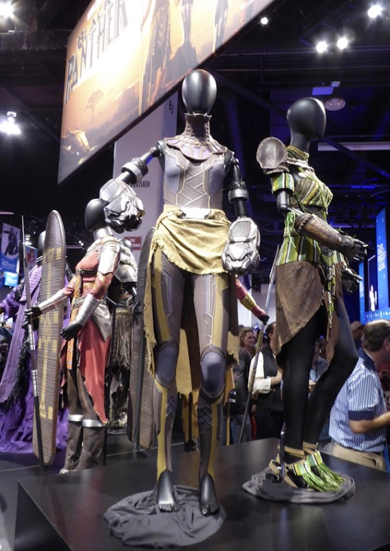 Black Panther movie costumes D23 Expo