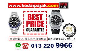 Rolex dipajak demean Garza RM45000