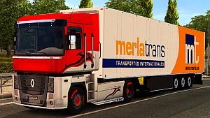 Merlatrans standalone trailer