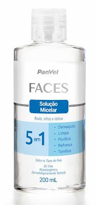 Solução Micelar Faces 5 em 1 da Panvel