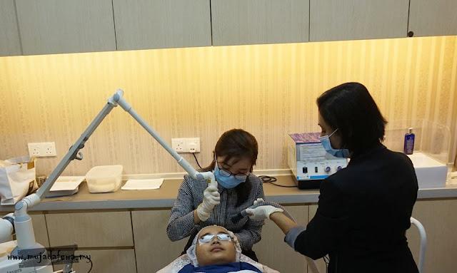 premier clinic bangsar, review rawatan laser klinik premier