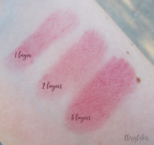 L'Occitane Pivoine Sublime Tinted Lip Balm swatch