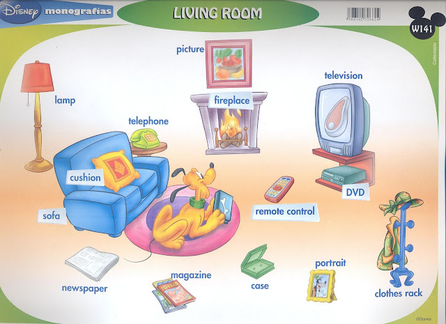Sgblogosfera mar a jos arg eso learn english with disney for Living room 4 pics 1 word