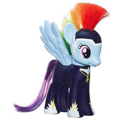 My Little Pony Power Ponies 6 Pack Rainbow Dash Brushable Pony Mlp Merch