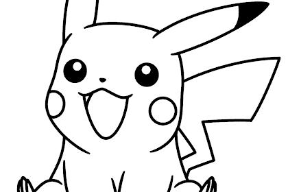 Gambar Pokemon Mewarnai