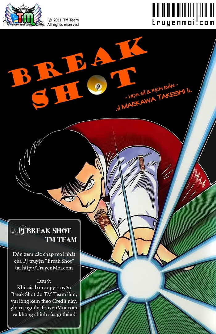 Break Shot chap 106 trang 1