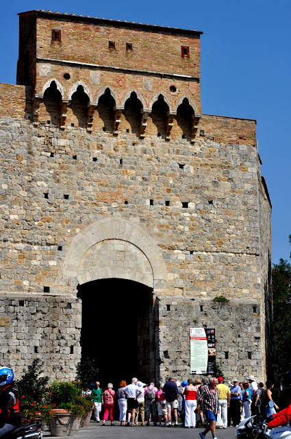 Entering the Walled Town of San Gimignano, Italy | Taste As You Go