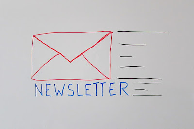 A picture of newsletter marketing.