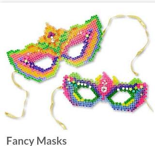 hama boncuğu maske