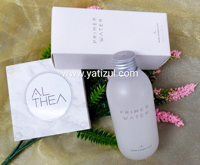 Althea Bare Essentials, Bare Essentials, Althea BE, produk best dari althea, althea, set penjagaan kulit althea, 3 langkah penjagaan kulit wajah, Bare Essentials Contour Cleanser, Bare Essentials Primer Water, Bare Essentials  Fixer Cream , Free Give Althea, review online shopping althea, k beauty, make up dari korea, review produk korea,