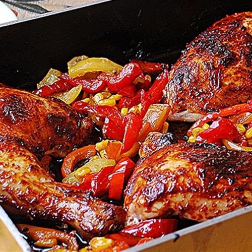 طريقة عمل اوراك الدجاج بالليمون المعصفر
