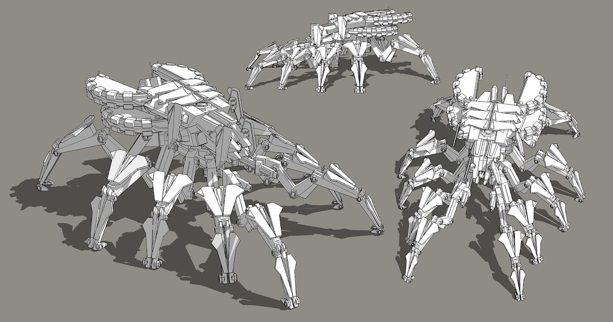Nuthin' But Mech: Sketchup Fun