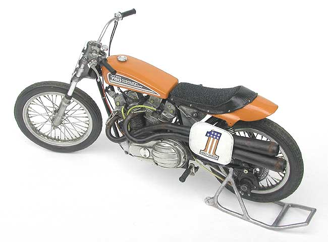 Harley Davidson: Racing Scale Models: Harley-Davidson XR 750 1972 By Kim's