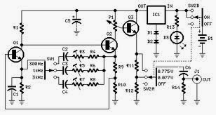 Wiring Schematic Diagram: Simple Sine Wave Generator Based
