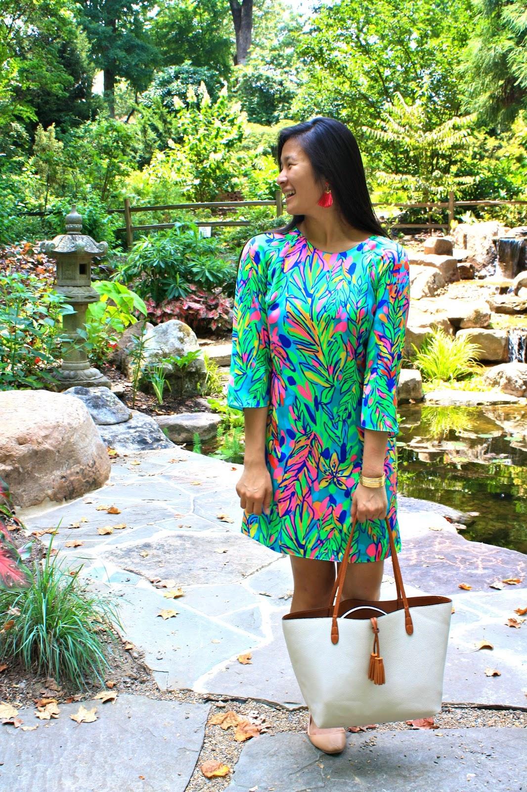 Lilly Pulitzer Hot Spot printed dress
