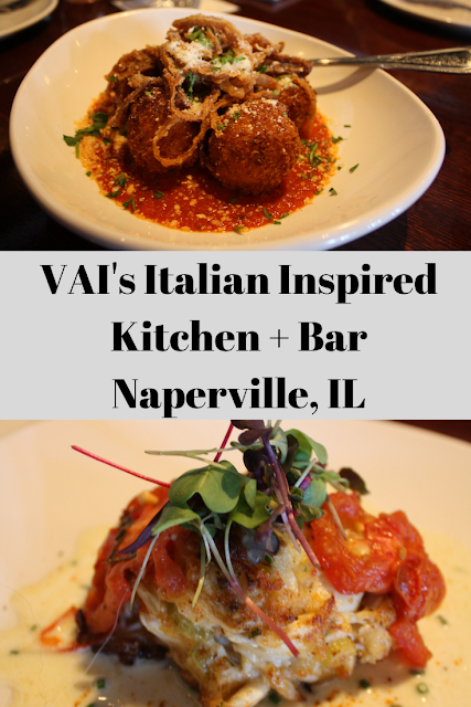 VAI's Italian Inspired Kitchen + Bar Naperville, IL: Sharing Life Over Plates