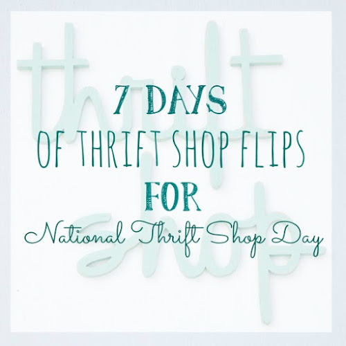 7 Days of Thrift Shop Flips for National Thrift Shop Day - Day 2 - Angel Food Cake Pan