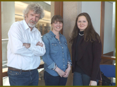 Art Hartmut, Emily Urquhart, Julia Vergara