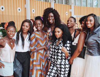 , Tiwa Savage hangs out with Hollywood ActressLupita Nyongo, Others in the US, Latest Nigeria News, Daily Devotionals & Celebrity Gossips - Chidispalace