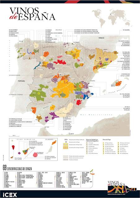 La importancia de las denominaciones de Origen en el mundo de los vinos en España