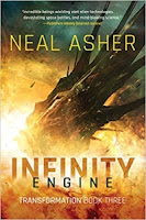 Infinity Engine by Neal Asher (Book cover)
