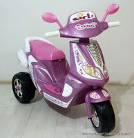 Motor Mainan Aki Junior ME7416 Girl