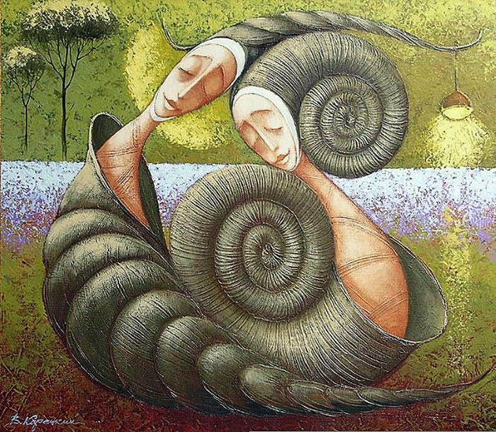 Украинский художник. Viacheslav Koretskiy 19