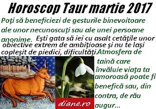 Horoscop martie 2017 Taur