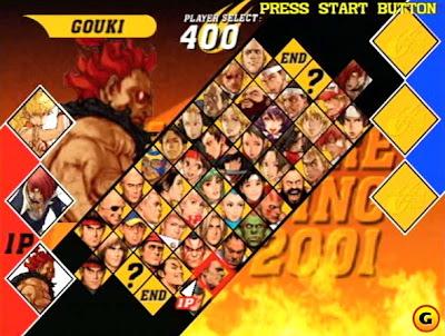 Capcom VS. SNK 2 Mark Of The Millionaire Fighting 2001