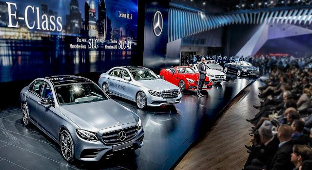 Dòng xe Mercedes 2018 tại Mercedes Việt Nam
