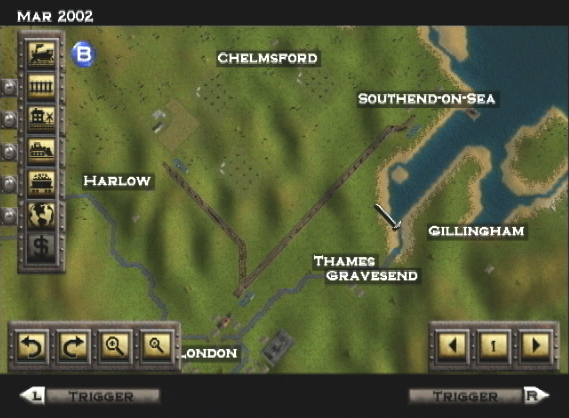 The Dreamcast Junkyard: A Quick Look At Railroad Tycoon II