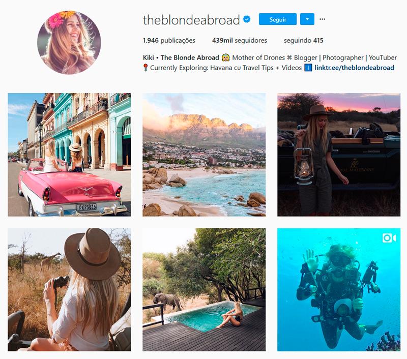 Top 10 Instagrammers Travel Bloggers para seguir theblondeabroad Kiersten Rich Kiki Indicações Dicas Instagram Pictures Photos Viajante Travelblogger Stephanie Vasques Viagens Não é Berlim blog naoeberlim