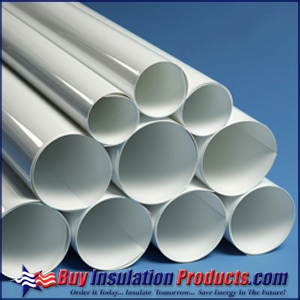 Steam Pipe Insulation: PVC Jacketing for Clean Look on