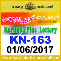 keralalotteries, kerala lottery, keralalotteryresult, kerala lottery result, kerala lottery result live, kerala lottery results, kerala lottery today, kerala lottery result today, kerala lottery results today, today kerala lottery result, kerala lottery result 1.6.2017 karunya-plus lottery kn 163, karunya plus lottery, karunya plus lottery today result, karunya plus lottery result yesterday, karunyaplus lottery kn163, karunya plus lottery 1.6.2017
