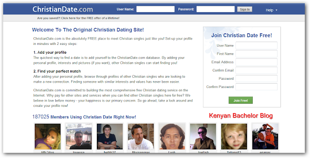 Christian dating for free user image
