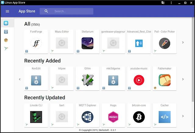 linux-app-store-flatpak-appimage-snap-deb-rpm-loja-programas-aplicativo-ubuntu-deepin-fedora-manjaro-mint