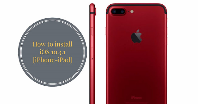How to Install iOS 10.3.1 on iPhone. It's a really simple and different method to install iOS 10.3.1 firmware on iPhone, iPad and iPod touch via iTunes and through OTA(Over The Air).
