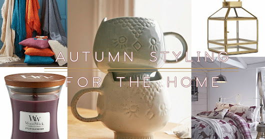 Autumn Styling For The Home