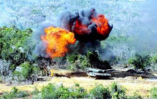 MBT Leopard TNI AD di Natuna