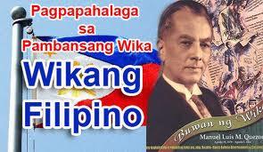 Tatag ng wikang filipino lakas ng pagka pilipino