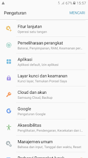 menghapus cache Google Playstore