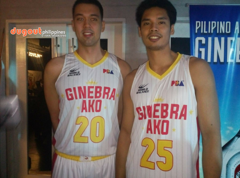 0221b8b1d On Cam  Ginebra s new jerseys