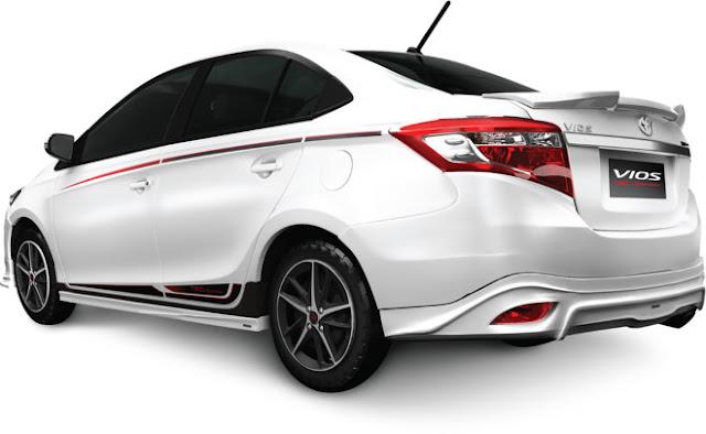 Giá bán chính thức Toyota Vios TRD phiên bản thể thao ảnh 3