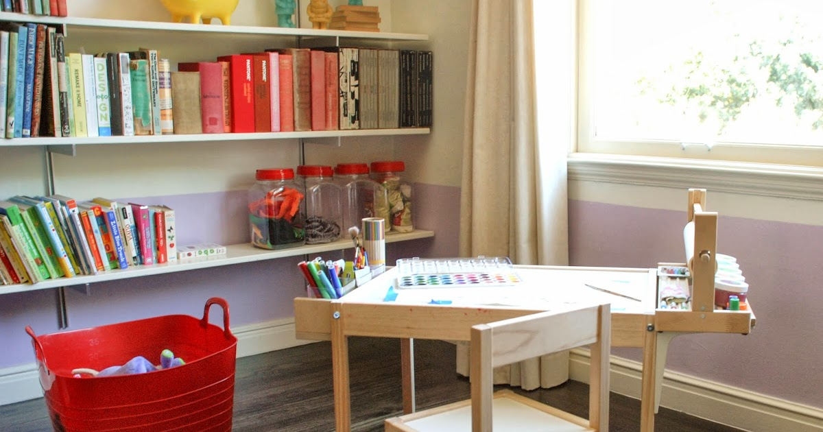 Kids Art And Craft Table