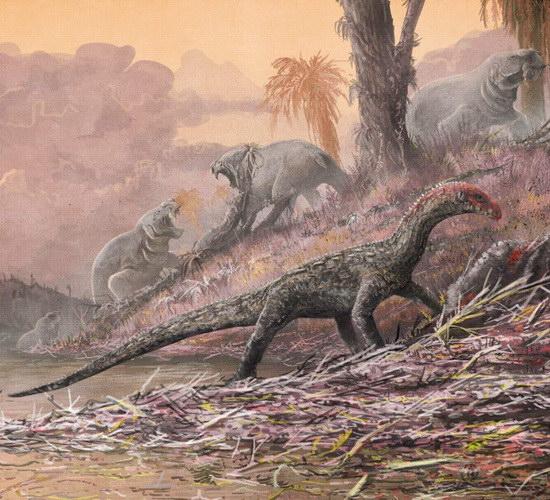 Laporan Penelitian Teleocrater rhadinus, Dinosaur Awal relatif sebelum Burung dan Buaya
