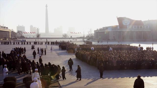 Norcoreanos apoyan a Kim y la ampliación de su programa nuclear
